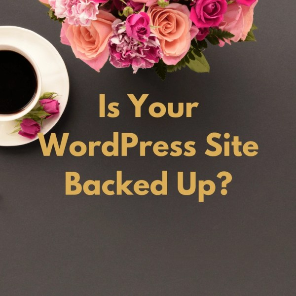 Is Your WordPress Site Backed Up I Thought Mine Was Updraft Plus Backup Service