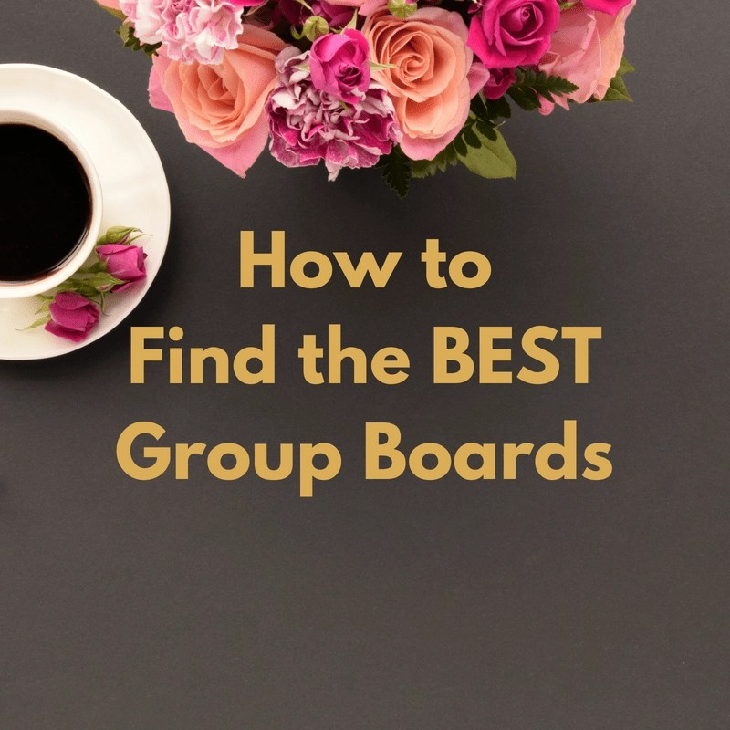How to Find the BEST Pinterest Group Boards
