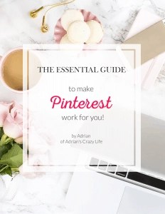 Best blogging tools include my Pinterest Ebook