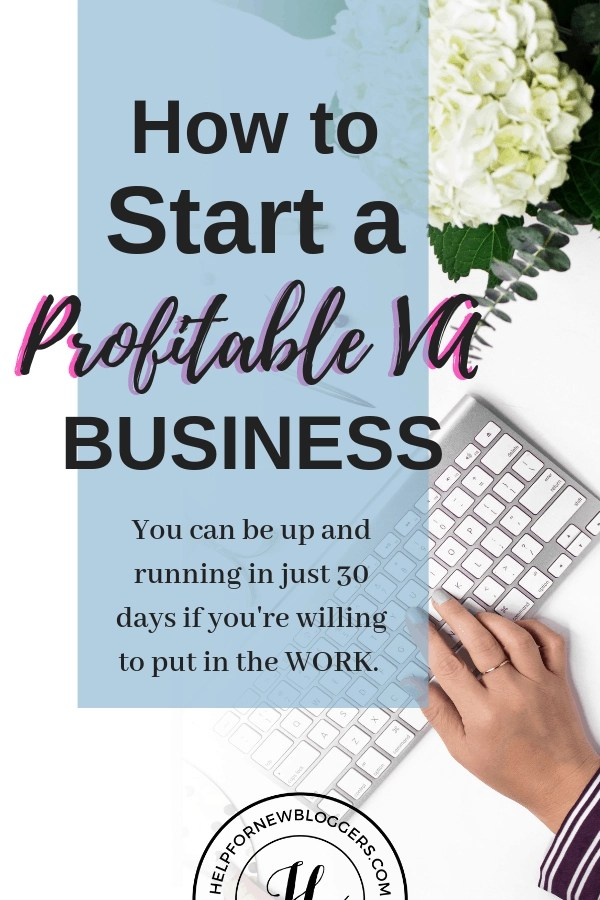 How to Start Your Profitable VA Business. You can earn money online in less than 30 days. #VABusiness #EarnmoneyOnline