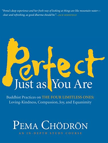 Perfect Just as You Are: Buddhist Practices on the Four Limitless Ones–Loving-Kindness, Compassion, Joy, and Equanimity