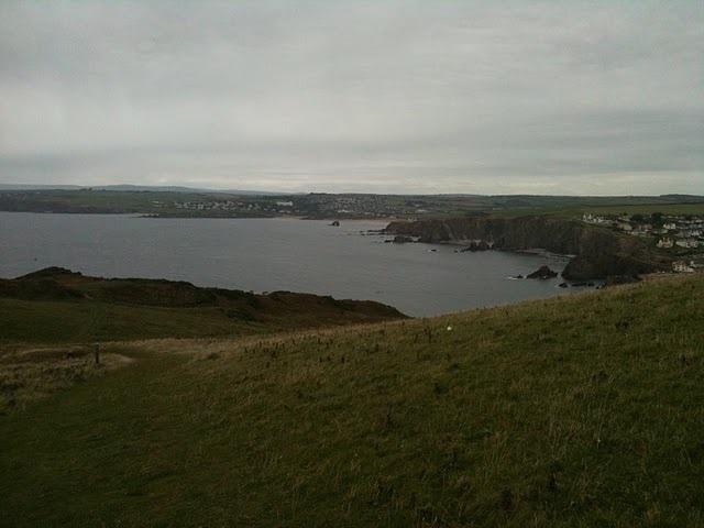 Bigbury Bay, as seen from Bolt Tail
