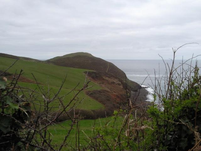 Cambeak from the coast road
