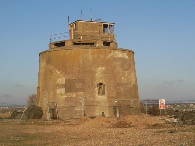 A Martello tower