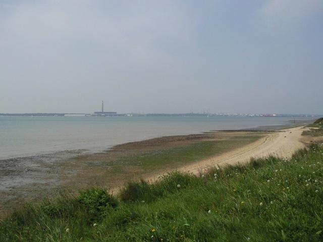 Fawley Refinery seen from across Southampton Water