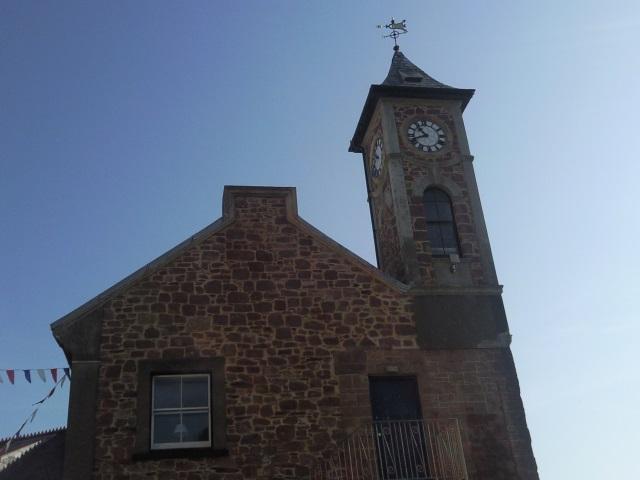 Kingsand's clocktower