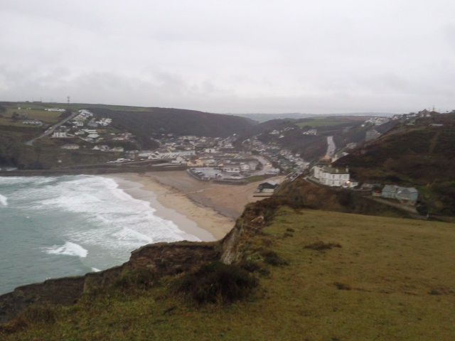 Portreath from the clifftop