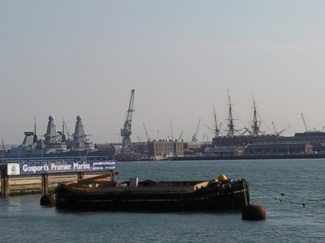 Portsmouth as seen from Gosport