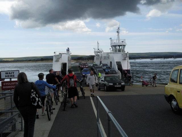 Sandbanks Ferry - actually a floating bridge or chain ferry