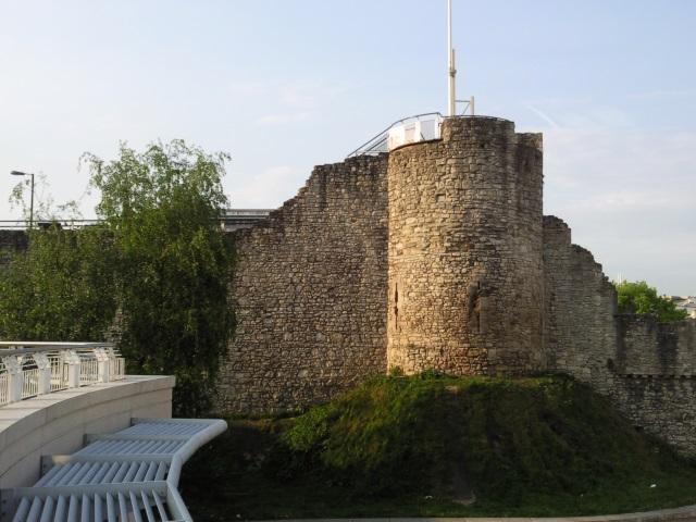 Mediaeval town walls