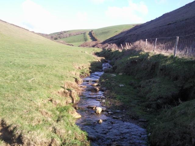 Stream near Delabole Point
