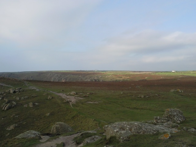 View to Sennen from Lands End coastline