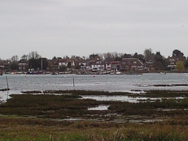 West Itchenor as seen from Smugglers Lane Ferry Hard