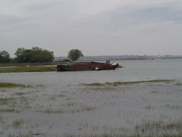 a mouldering wreck