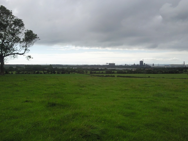 Margam Steel Works from the A48