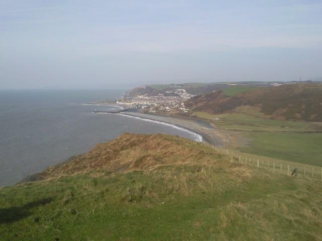 Aberystwyth from Allt-wen