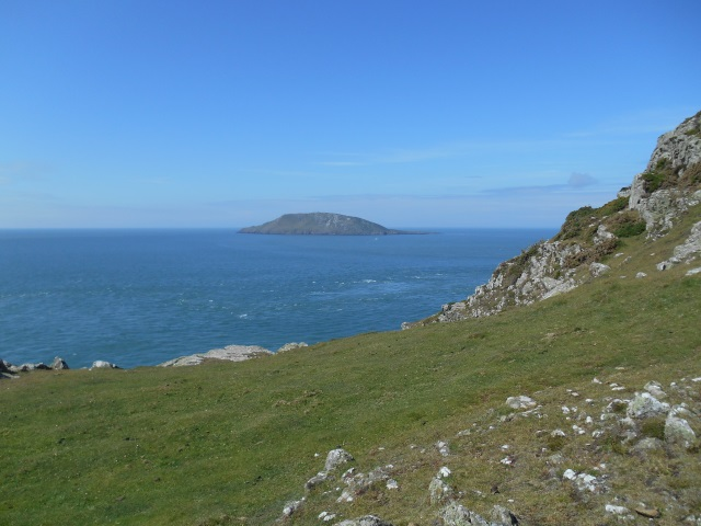 Bardsey Island from Pen-y-Cil