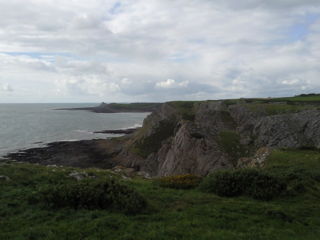 Cliffs near Thurba