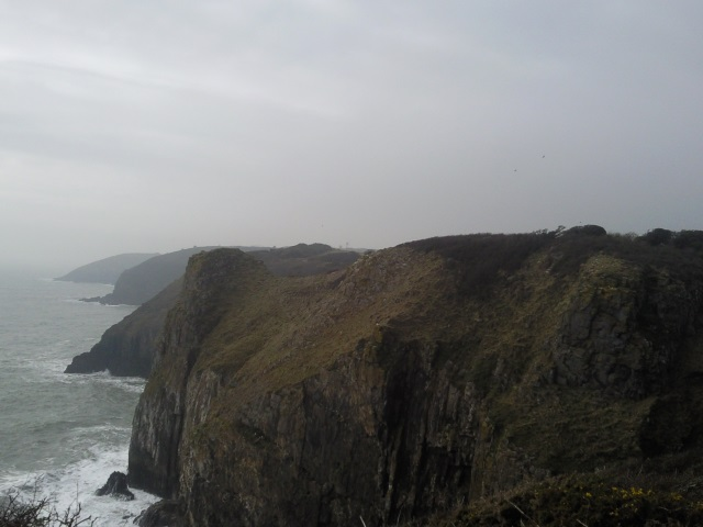 Dramatic Pembrokeshire cliffs