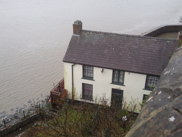The Boat House in which Dylan Thomas lived