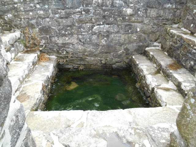 St Beuno's Well - interior