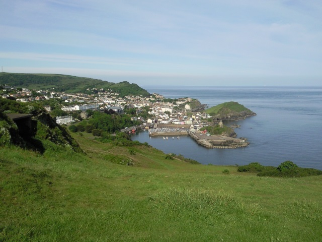 Ilfracombe, as seen from Hillsborough