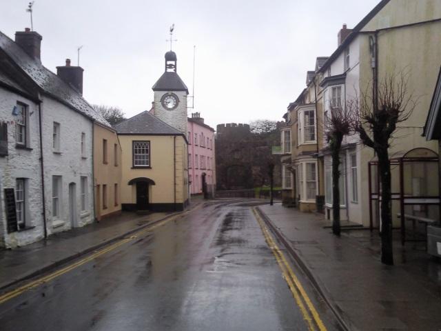 Market Street, Laugharne