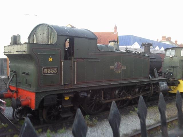 Small steam engine at Minehead
