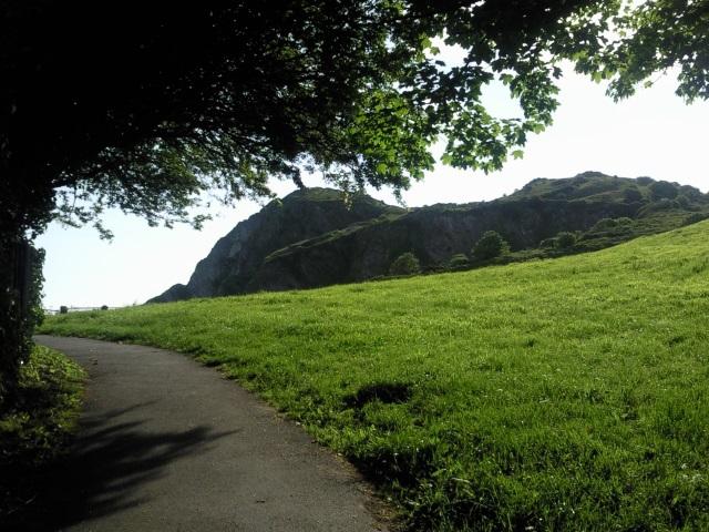 Path up Hillsborough