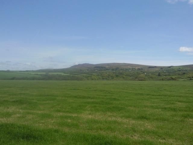 The Preseli Hills from Aber Ysgol