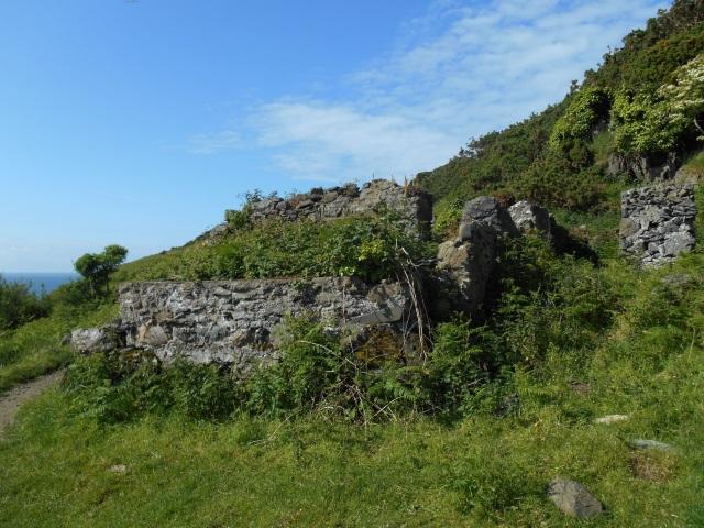 Ruined building near Arberdaron