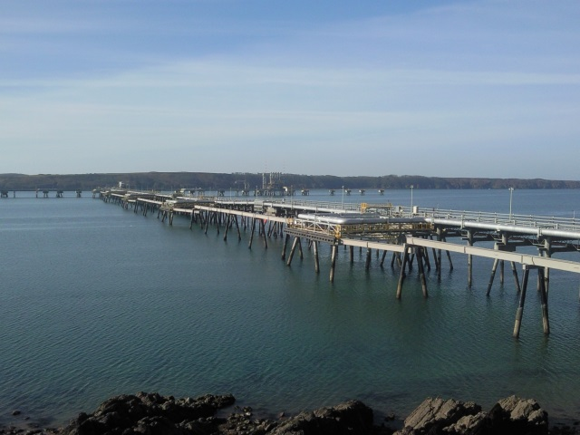 South Hook LNG jetty