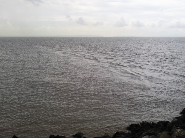 The interplay of the Severn's outflow and the tide