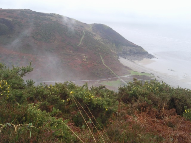 View back down from Ragwen Point
