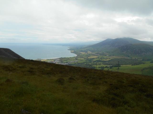 View from Bwlch yr Eifl