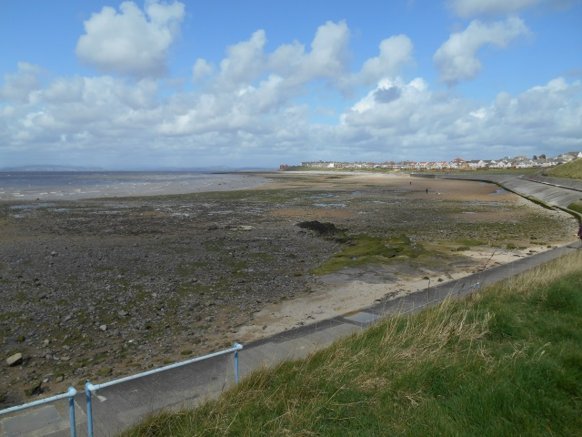 Approaching Morecambe
