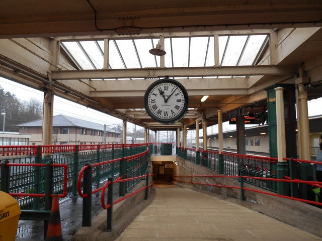 Carnforth Station clock