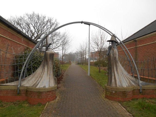Sculptures in Cottam