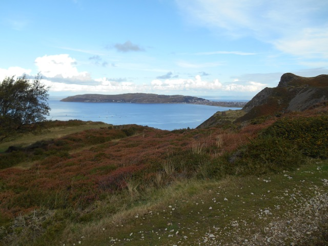 Great Orme's Head from Alltwen