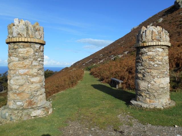 Jubilee path pillars