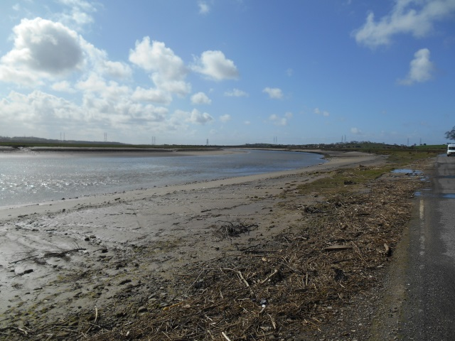 The banks of the Lune