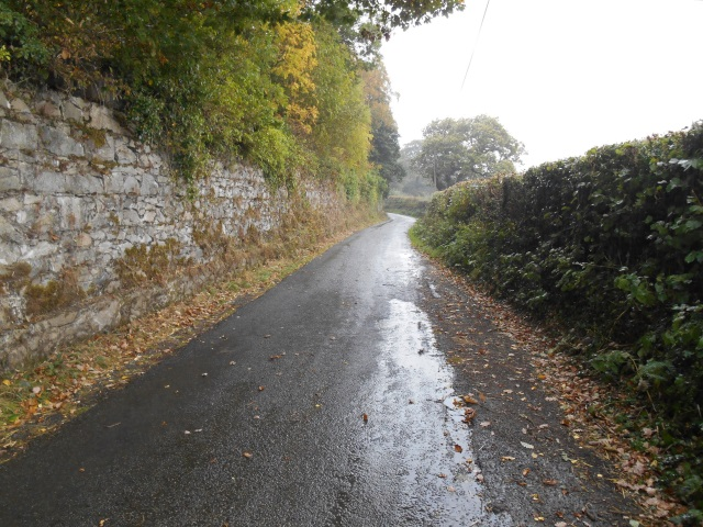 The road from Tal-y-Bont