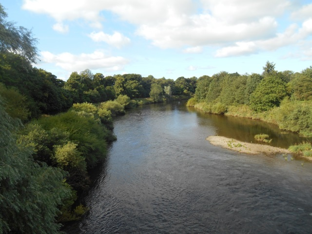 River Eden in Carlisle
