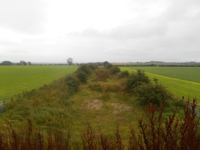 Disused C&SBR track alignment near Raby Grange