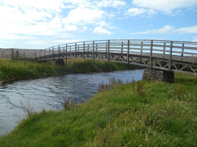 Footbridge over the River Annas