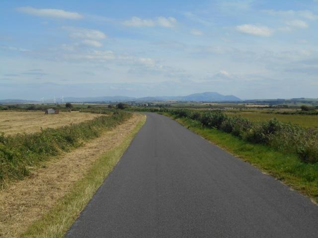 Road from Oldkin Farm towards Edderside