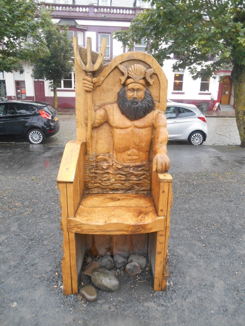 Storytelling Chair, Silloth