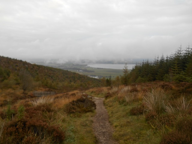 Path descending from Criffel