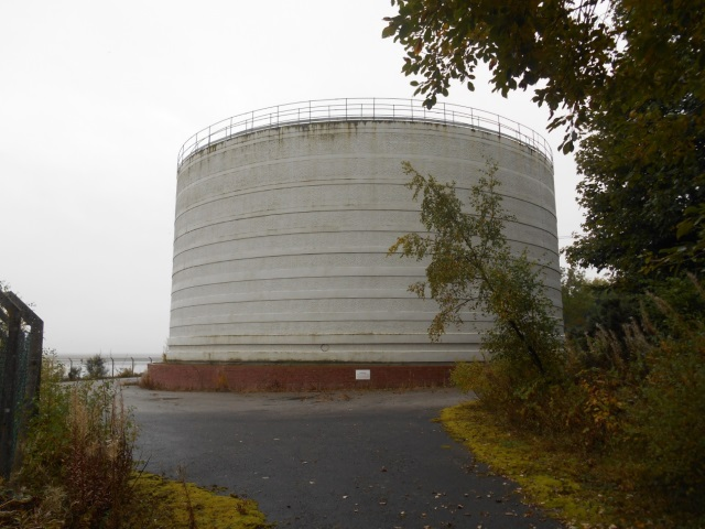 Effluent tanks at Airds Point