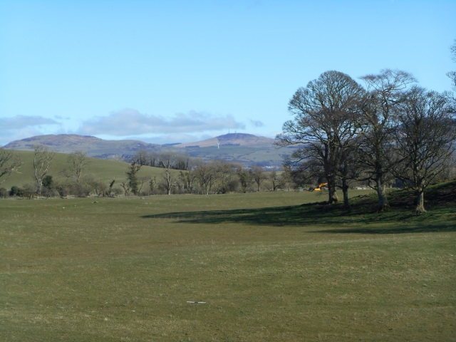 Knockeans Hill and Cambret Hill.